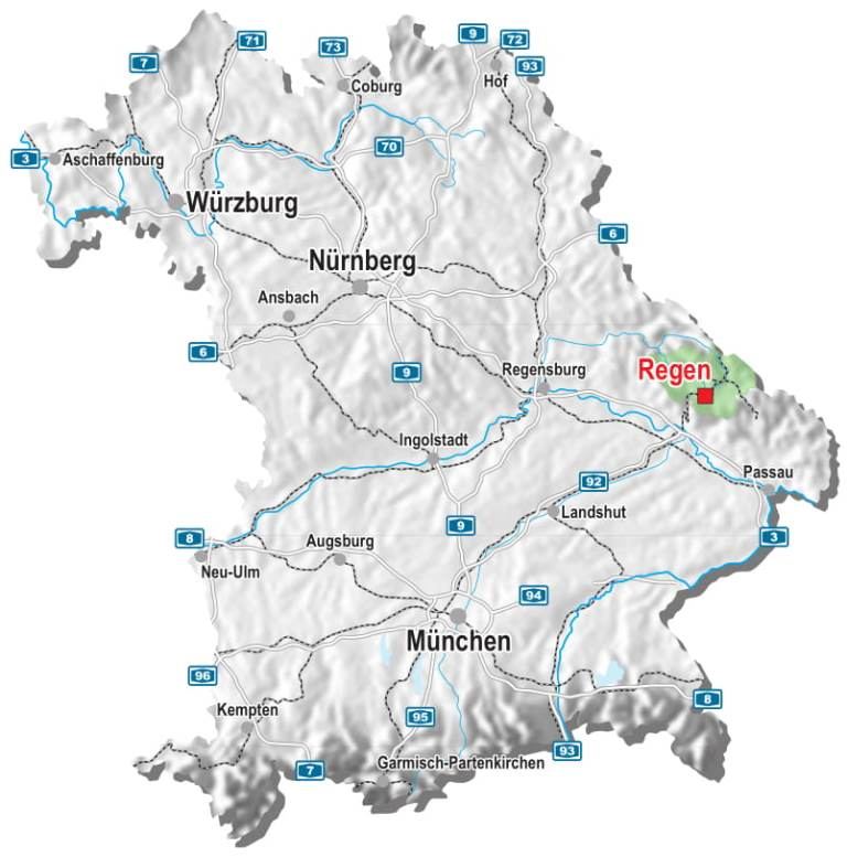 Landkreis Augsburg Karte.Landkarte